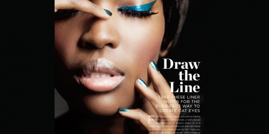 Essence Makeup Liner Editorial