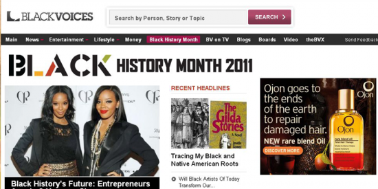 AOL Black Voices: Black History Month Package